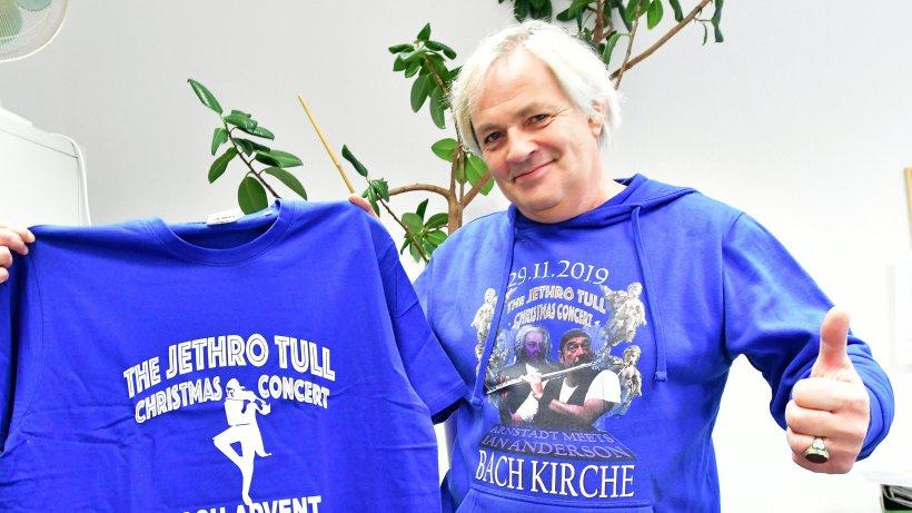 T-Shirts und Pullover für's Jethro-Tull-Konzert in Arnstadt